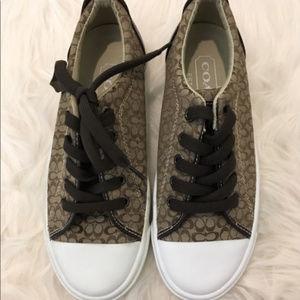 Coach Signature C Sneaker Tennis Shoe 5.5 6M IOB